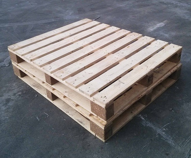 Pallets are a great foundation for your firewood pile!