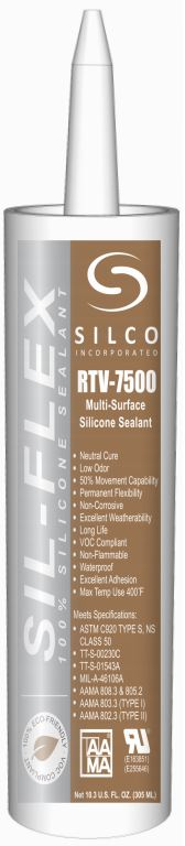 Multi Surface Silicone Sealant Clear