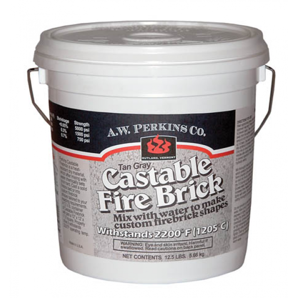 Castable Fire Brick Refractory Cement