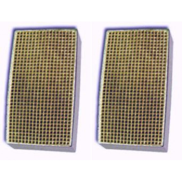 3 X 7 X 2 Inch Rectangular Canned Catalytic Combustor Cc