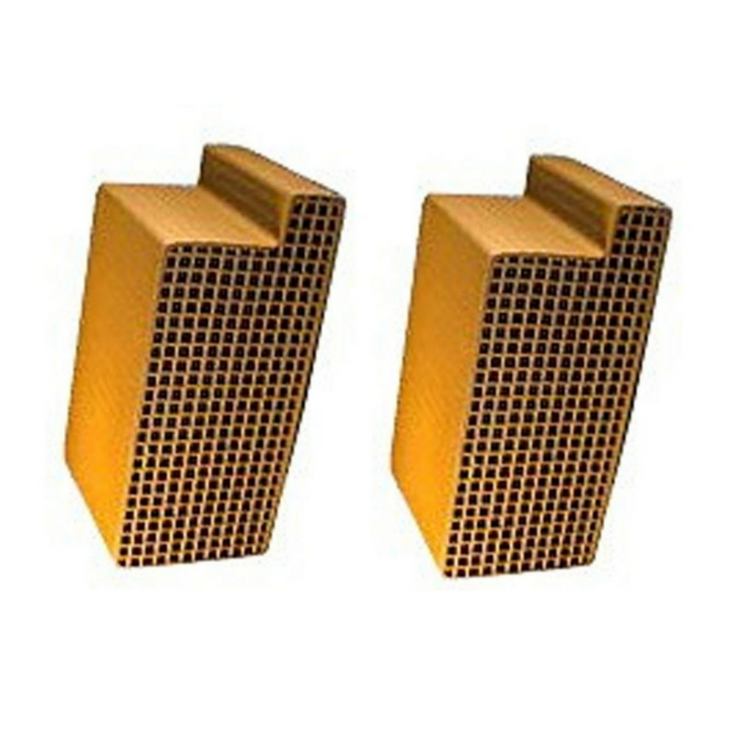2 5 X 6 8 X 3 Inch Uncanned Catalytic Combustor Cc 301 Set