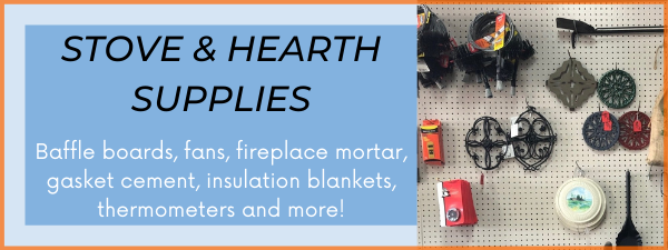 Fans, baffle boards, insulation blankets, mortar and more!