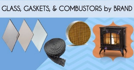 Replacement Glass, Gaskets, & Combustors by Brand