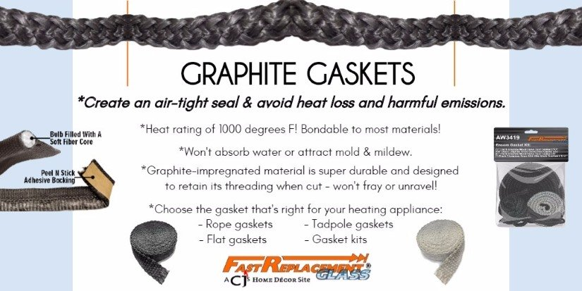 Gaskets for your heating appliance - many sizes and styles available!