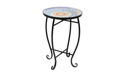 Mosaic Stained Glass Flower Stand
