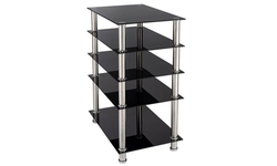 Tempered Glass Five Layer TV Cabinet