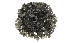 """1/2"""" Umber Reflective Fire Glass"""