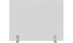 Elice Custom Size Fireplace Screen With Clear Tempered Glass