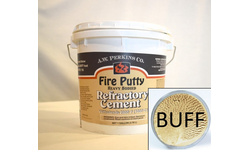 Fire Putty Refractory Cement - Buff, 1 Gallon