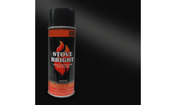 Stove Bright Spray Can - Satin Black