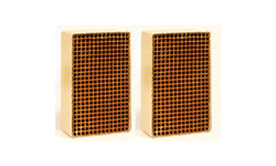 1.9 x 6.8 x 2 Inch Rectangular Uncanned Catalytic Combustor CC-156 Set of Two