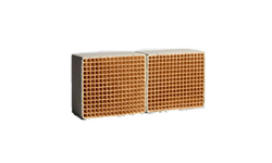 3.6 x 4.8  x 2 Inch Rectangular Uncanned Catalytic Combustor CC-517 Set of Two