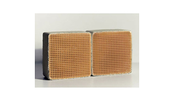 4.6 x 4.6 x 2 Inch Rectangular Uncanned Replacement Catalytic Combustor CC-603 Set of Two