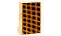 2 x 6 x 3 Inch Rectangular uncanned Catalytic Combustor CC-203