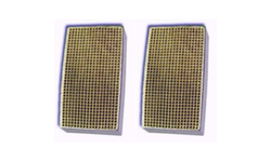 3 x 7 x 2 Inch Rectangular Canned Catalytic Combustor CC-355 Set of Two