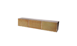 3.6 x 18 x 3 Inch Rectangular Canned Catalytic Combustor CC-453