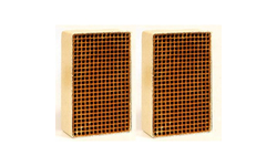 6 x 6 x 3 Inch Rectangular Uncanned Catalytic Combustor CC-652
