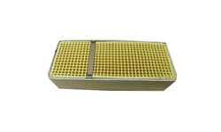 3.7 x 9.1 x 2 Inch Rectangular Canned Catalytic Combustor CC-550