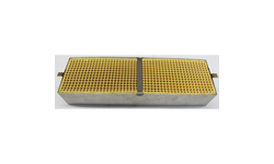 3.7 x 12.1 x 2 Inch Rectangular Canned Catalytic Combustor CC-553