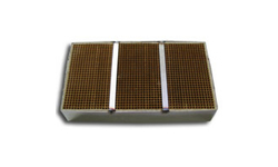 6 x 10.6 x 2 Inch Rectangular Canned Catalytic Combustor CC-601