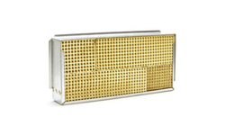 5 x 10.5 x 2 Inch Rectangular Canned Catalytic Combustor CC-604