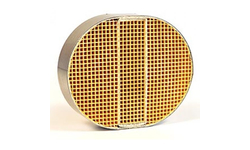 7 x 9 x 2 Inch Round Canned Catalytic Combustor CC-111