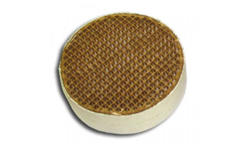 5.7 x 2 Inch Round Uncanned Catalytic Combustor CC-002