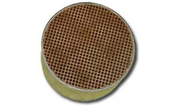 6 x 3 Inch Round Uncanned Catalytic Combustor CC-006