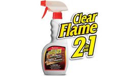 Clear Flame Glass Cleaner