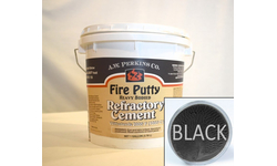 High Temperature Fire Putty Cement Black 1 Gallon