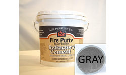 High Temperature Fire Putty Cement Gray