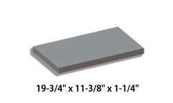 Baffle Board For Caddy By PSG & Drolet [21220]