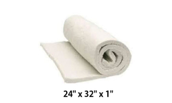 "Universal Insulation Blanket For Quadra-Fire 24"" x 32"" x 1"" [832-3401 or SRV7038-117]"