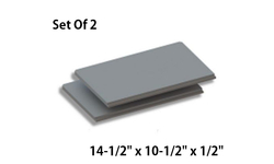 Set Of 2 Baffle Boards For QuadraFire 41i ACC [SRV7045-160]