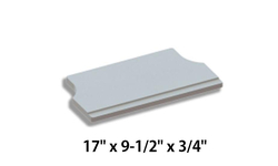 Lower Baffle Board For Hearthstones Shelburne 8371 [3120-370]