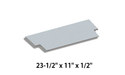Upper Baffle Board For Hearthstones Shelburne 8371 [3120-371]
