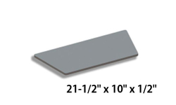 Baffle Board For Hearthstones Clydesdale 8491 [3120-490]