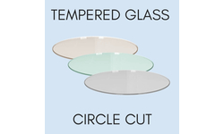 Tempered Glass Circle Cut - Replacement Glass