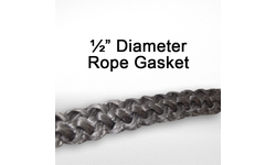 1/2 Inch Fiberglass Rope Gasket for wood stoves