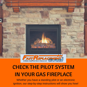 Check The Pilot System In Your Gas Fireplace