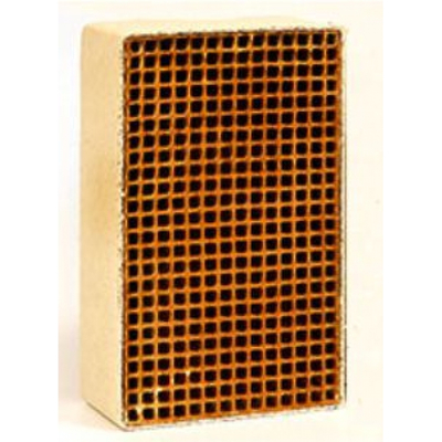 1.9 x 6.8 x 2.5 Inch Rectangular Uncanned Catalytic Combustor CC-158
