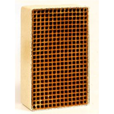 1.9 x 7.0 x 3 Inch Rectangular Uncanned Catalytic Combustor CC-204