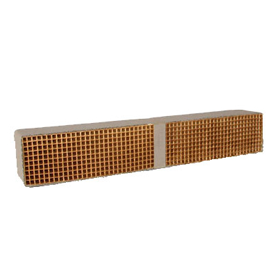 3 x 14 x 3 Inch Rectangular Uncanned Catalytic Combustor CC-405