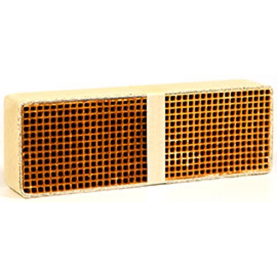 3.5 x 10.2 x 2 Inch Rectangular Uncanned Catalytic Combustor CC-512