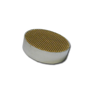6 x 1.4 Inch Round Canned Catalytic Combustor CC-003
