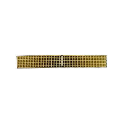 2 x 14 x 2 Inch Rectangular Canned Catalytic Combustor CC-170