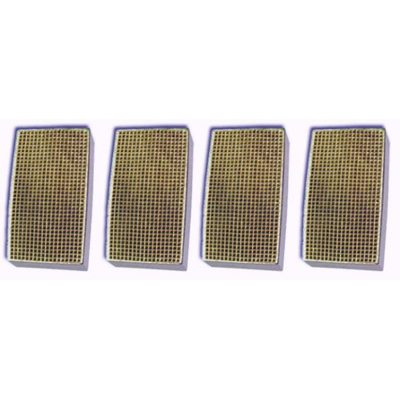 2 x 7 x 2 Inch Rectangular Canned Catalytic Combustor CC-177 Set of Four