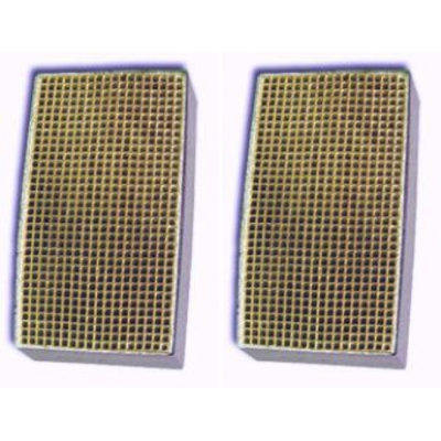 3.5 x 4 x 3 Inch Rectangular Canned Catalytic Combustor CC-514 Set of Two