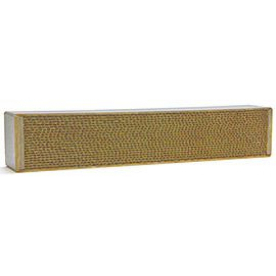 3 x 14 x 2 Inch Rectangular Canned Catalytic Combustor CC-354