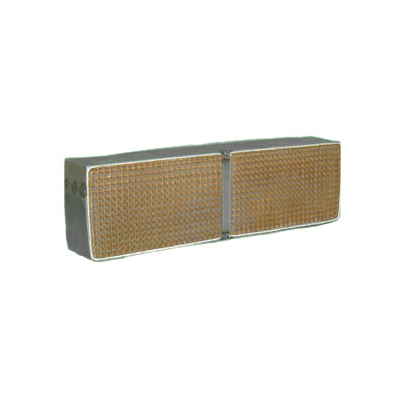 3.7 x 12.3 x 2 Inch Rectangular Canned Catalytic Combustor CC-513